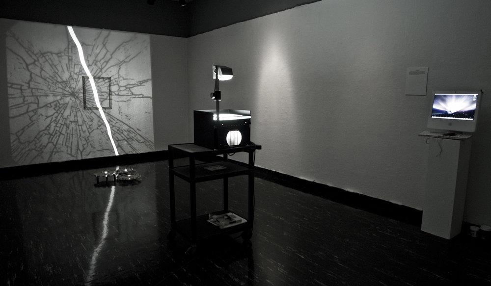 """""""La Toma"""" Installation at El Movimiento de Arte y Cultura Latino-Americana"""