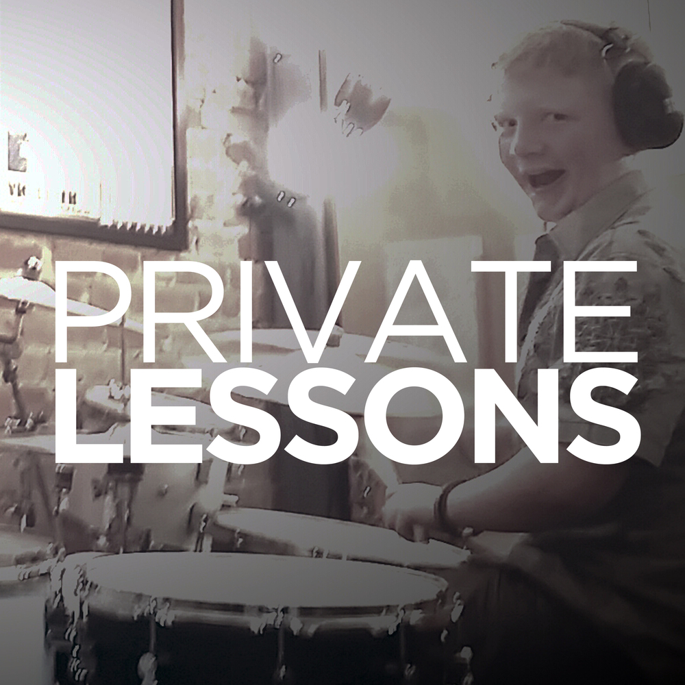 ALL AGES/LEVELS: KIT • SNARE • PERCUSSION • MALLETS We currently offer private lessons on drum set, snare drum, hand percussion, and mallets in Denton, TX at the shop. No matter your age or experience we will custom tailor lessons to suit your individual needs. LEARN MORE