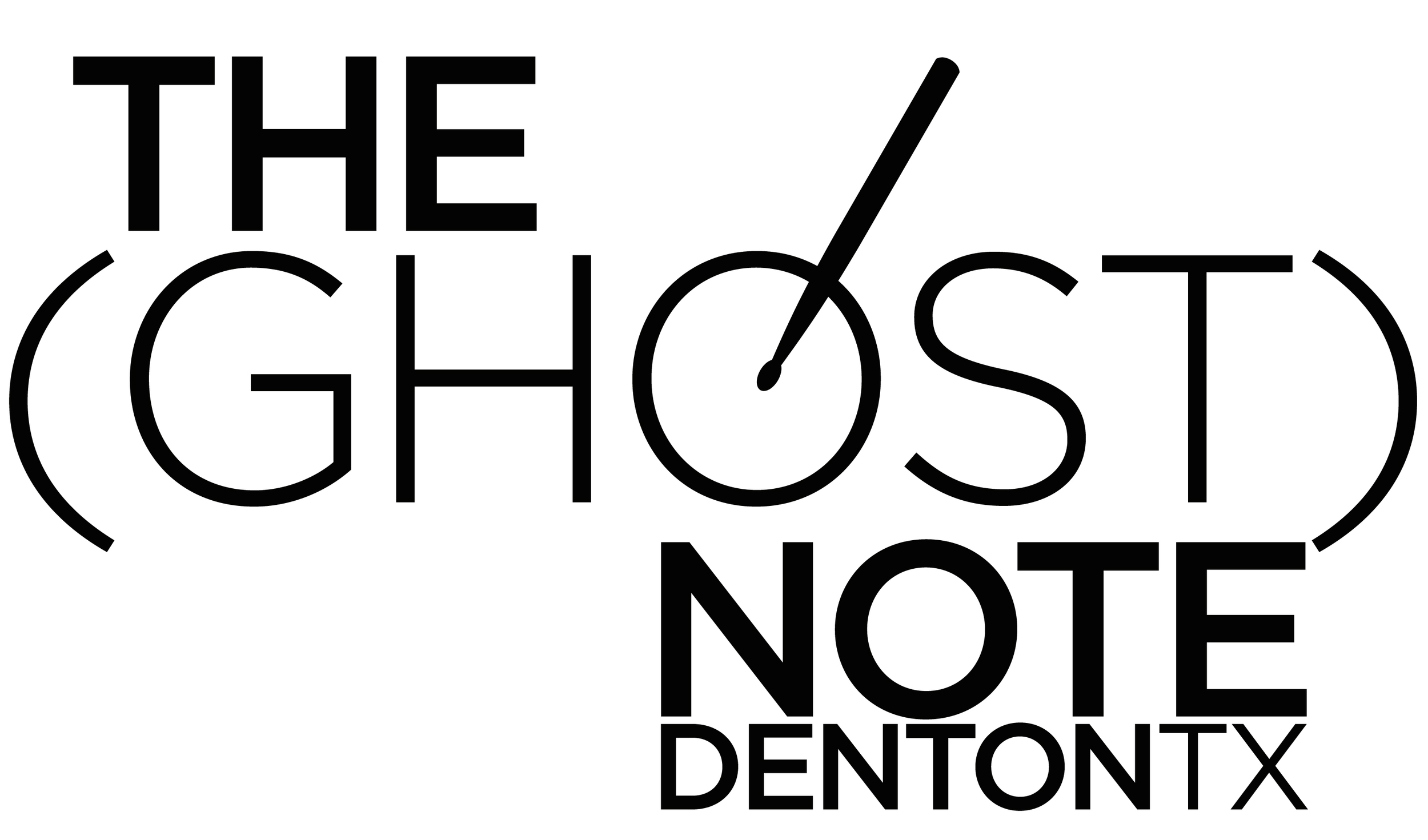 THE (GHOST) NOTE