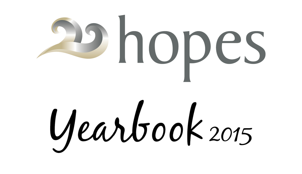 Click on this image - to see the 2015 Hope Yearbook in review.