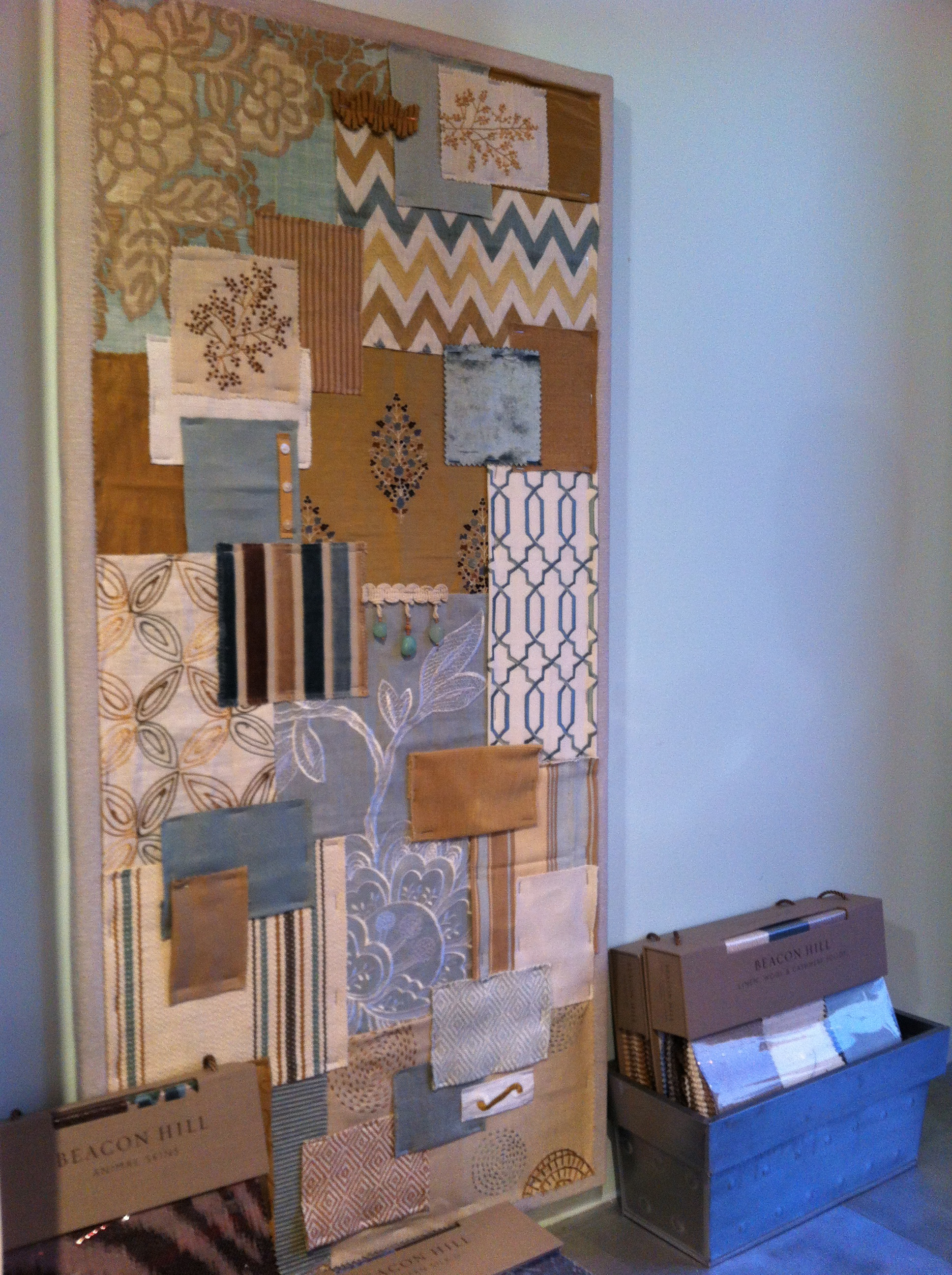 Fabric Sample Board