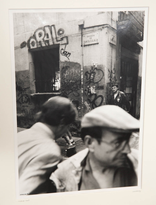 "Madrid  2003 (gelatin silver print 12""x16"") shot with my Nikon fm2."