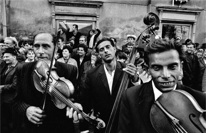 Moravia (1966) by Josef Koudelka /  Magnum Photos .