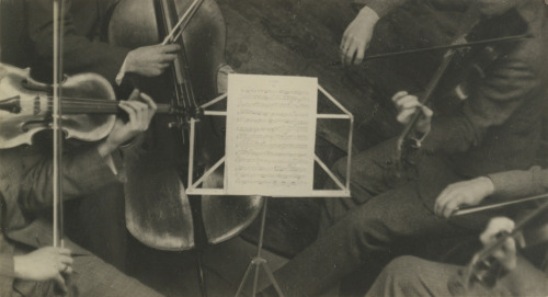 The Roth Quartet , Paris, (1927) by André Kertész.