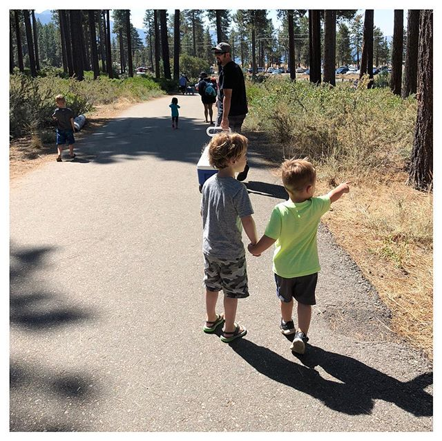 Labor Day weekend 2018. South Lake Tahoe. Jack and the Hoover boys 💙