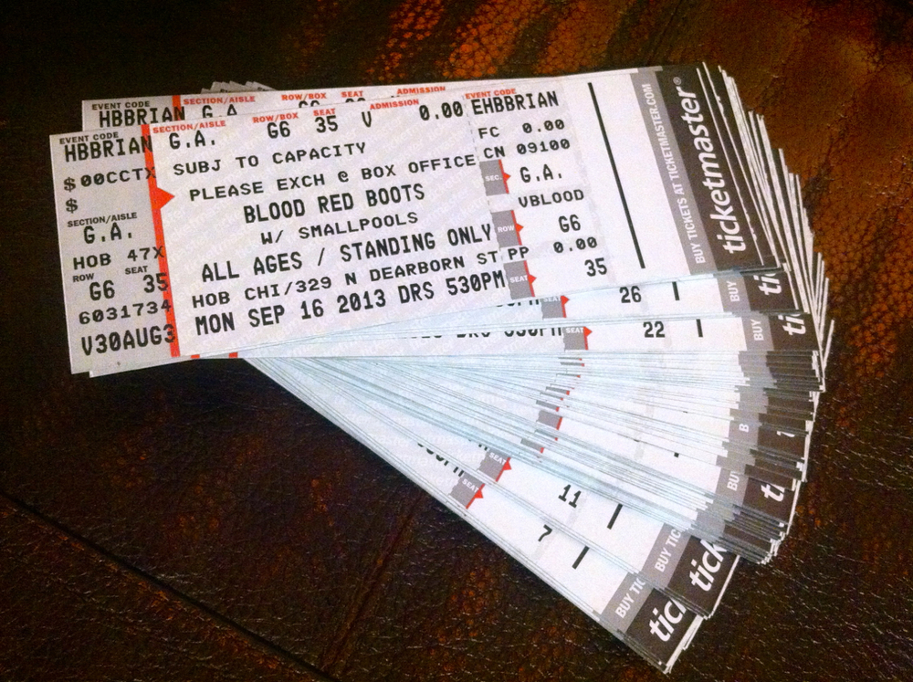 Free House of Blues Tickets!