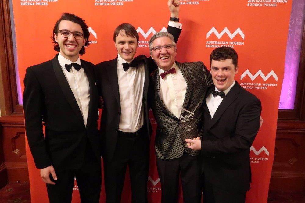 FREO2 Wins 2017 Eureka Prize!