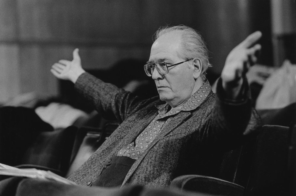 Olivier Messiaen  via Google Images. Source unknown.