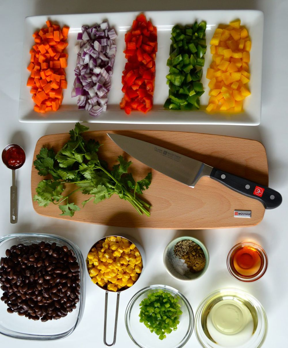 Ingredients for Coco's Chopped Salad