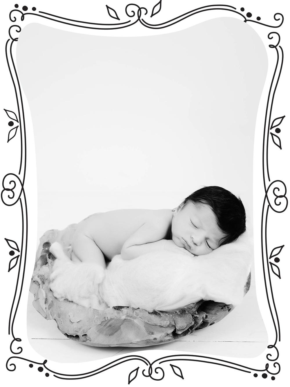 sara rad studio newborn baby vancouver