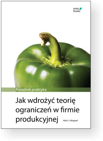 Jak wdrożyć teorię ograniczeń w firmie produkcyjnej: Poradnik praktyka Woeppela ukaże się (wreszcie!) 22 lipca 2009. Do tego czasu cena promocyjna. Kliknij w zdjęcie.