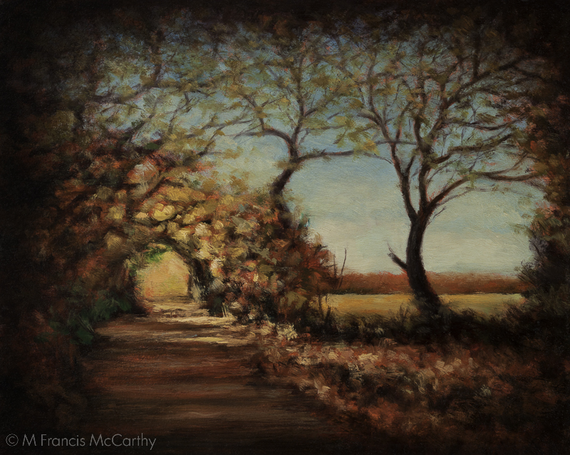"""Afternoon Trail"" Size 8x10 by M Francis McCarthy"