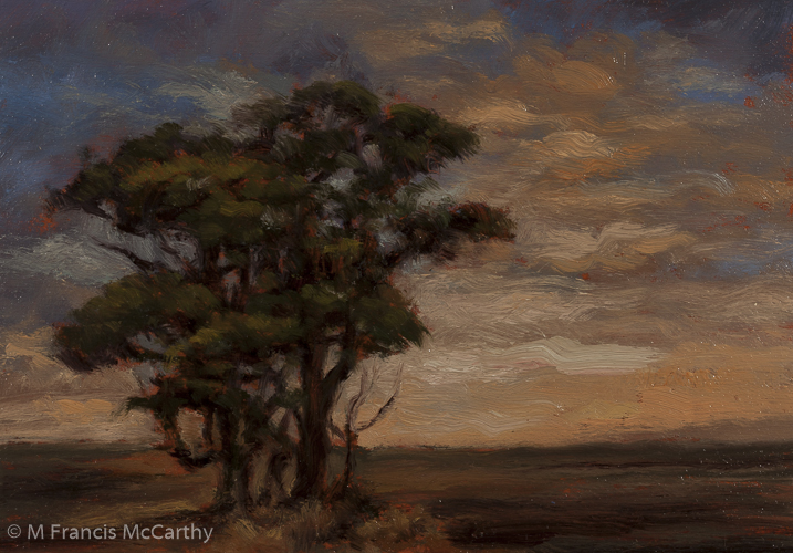 """Daybreak"" Size 5x7 by M Francis McCarthy"