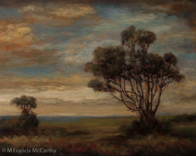 """Near Evening"" Size 8x10 by M Francis McCarthy"