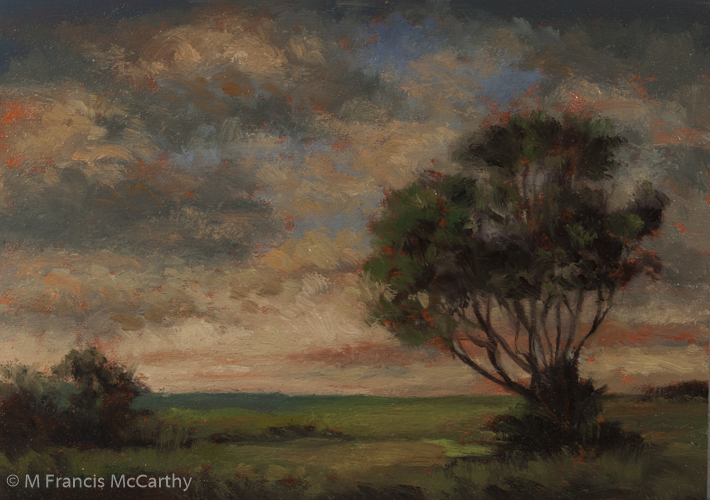 """Near Evening"" Size 5x7 by M Francis McCarthy"
