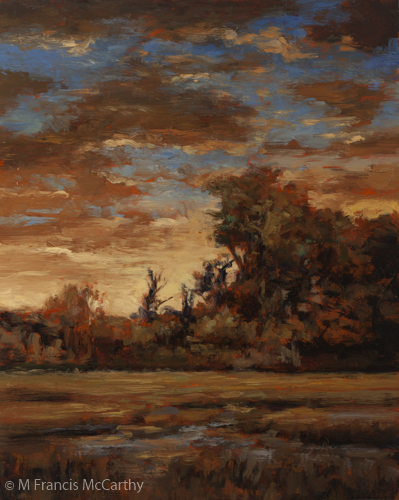 """Sundown"" Size 8x10 by M Francis McCarthy"