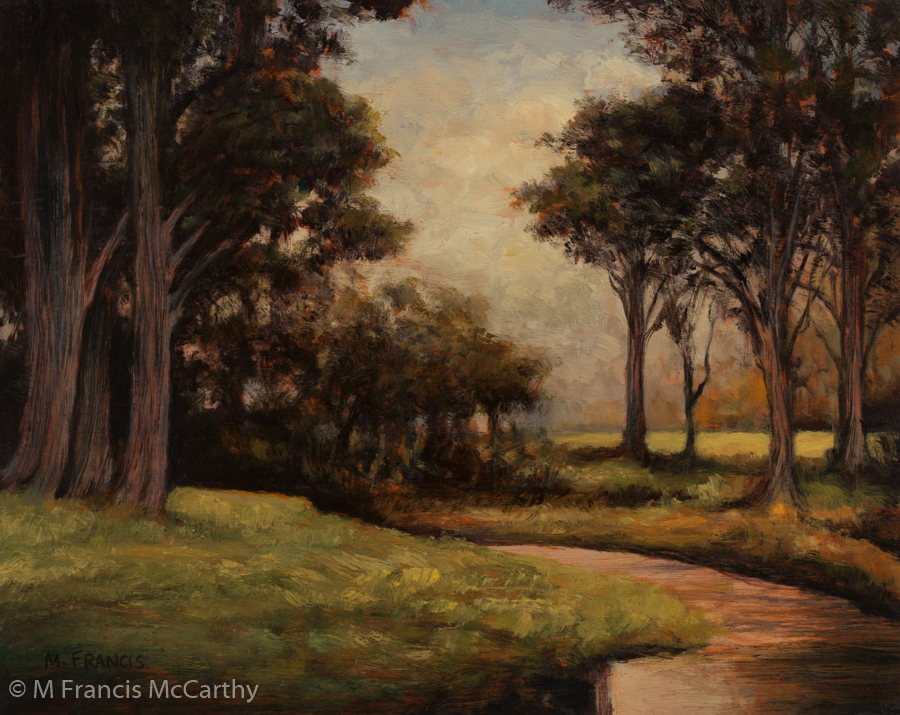 """Woodland Brook"" Size 8x10 by M Francis McCarthy"