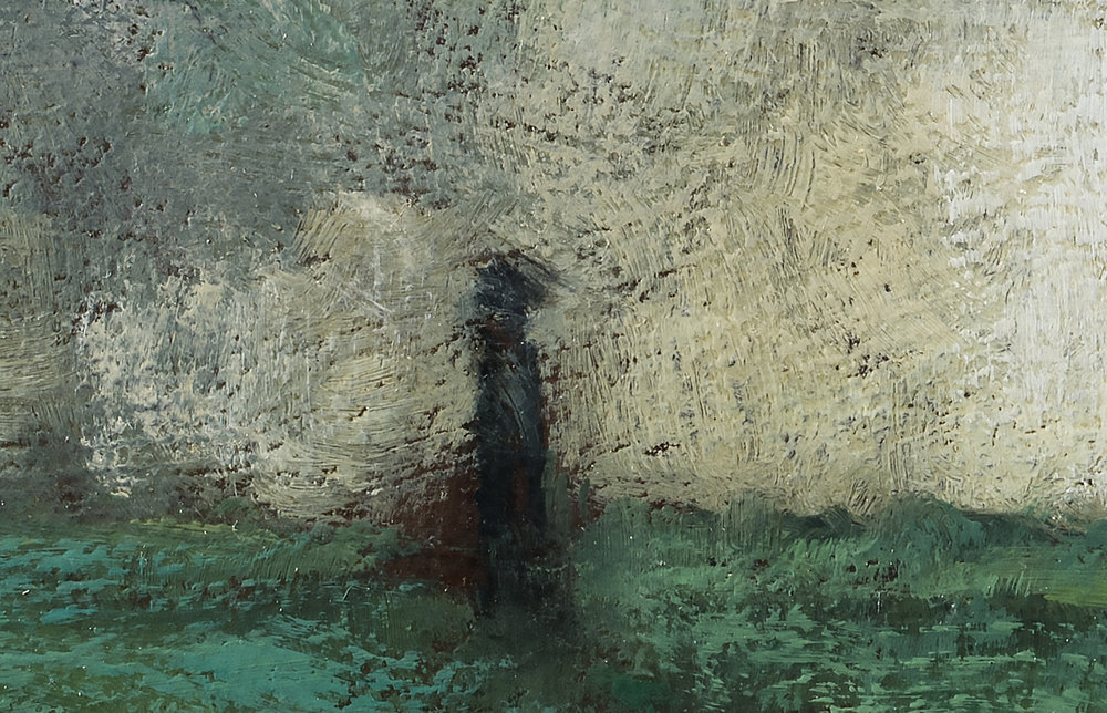 Study after George Inness the Trout Brook by M Francis McCarthy (detail 2)