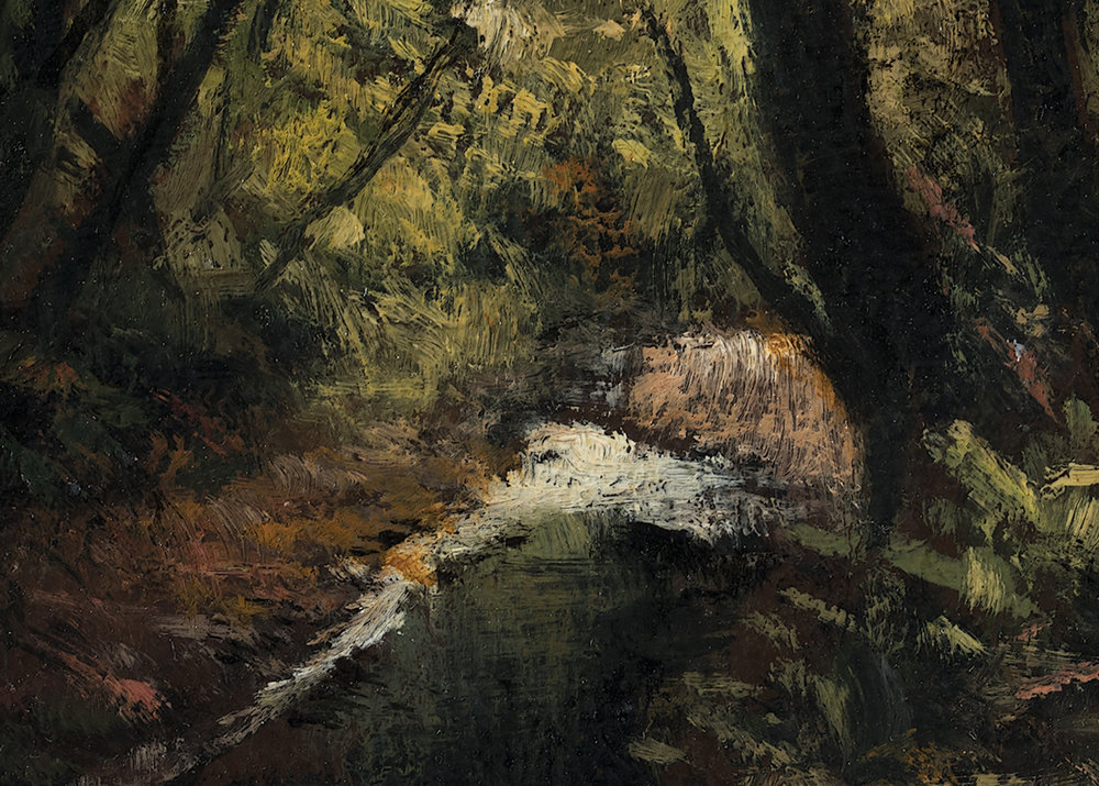 Forest Stream by M Francis McCarthy (Detail)
