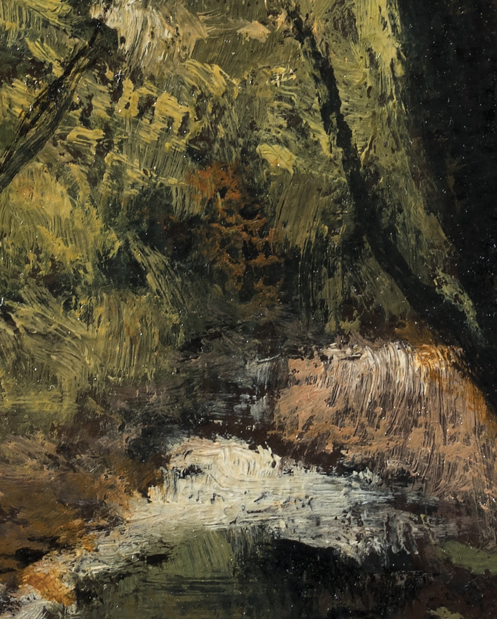 Forest Stream by M Francis McCarthy (Detail 2)