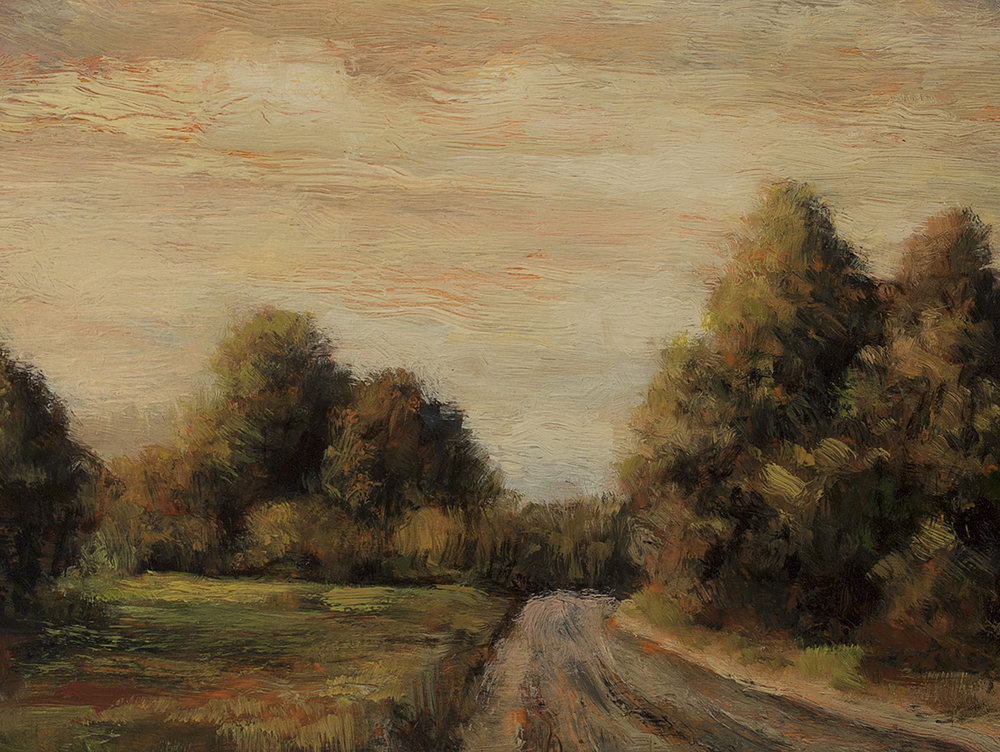Russel Road 8x8 by M Francis McCarthy (Detail)