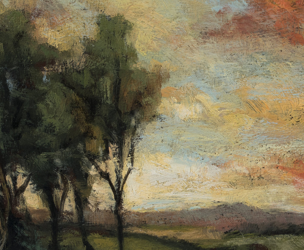 Study after Charles Appel Marsh Landscape by M Francis McCarthy (Detail)