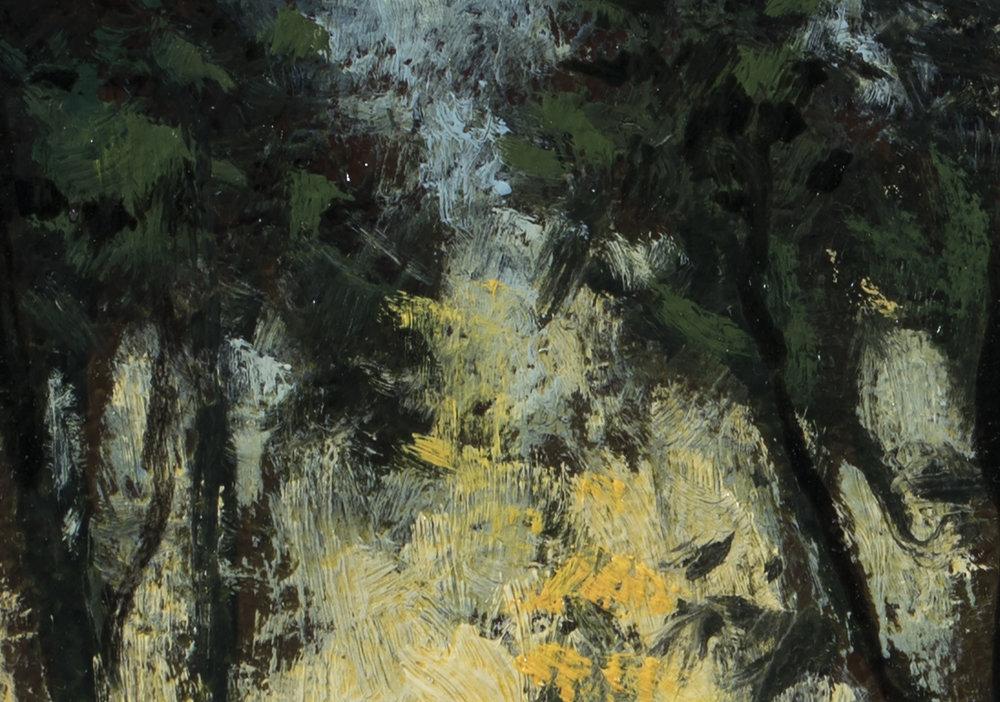 Twilight Trail by M Francis McCarthy - 6x8 (Detail 2)
