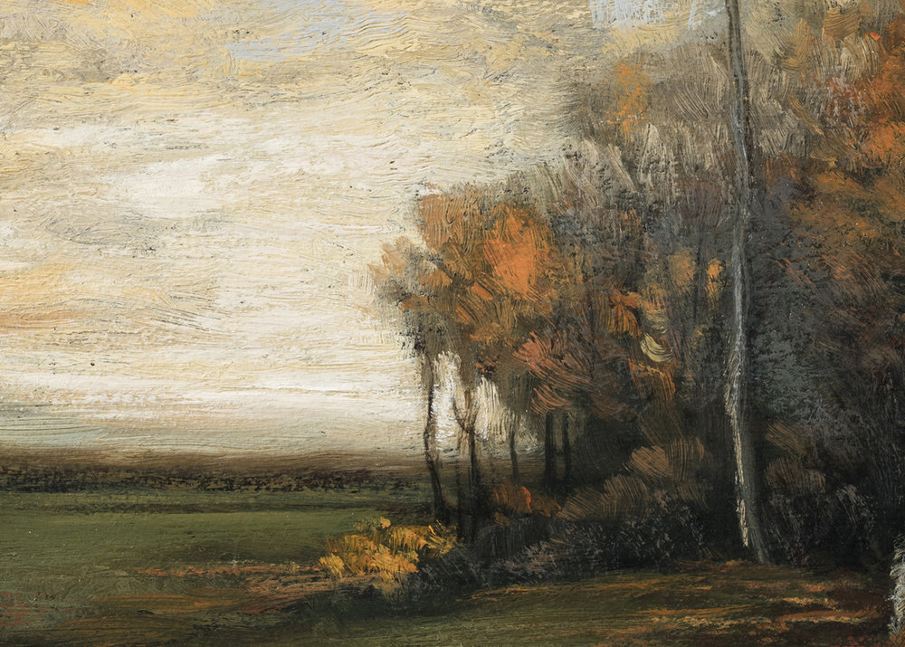Study after John Francis Murphy Autumn by M Francis McCarthy (Detail)