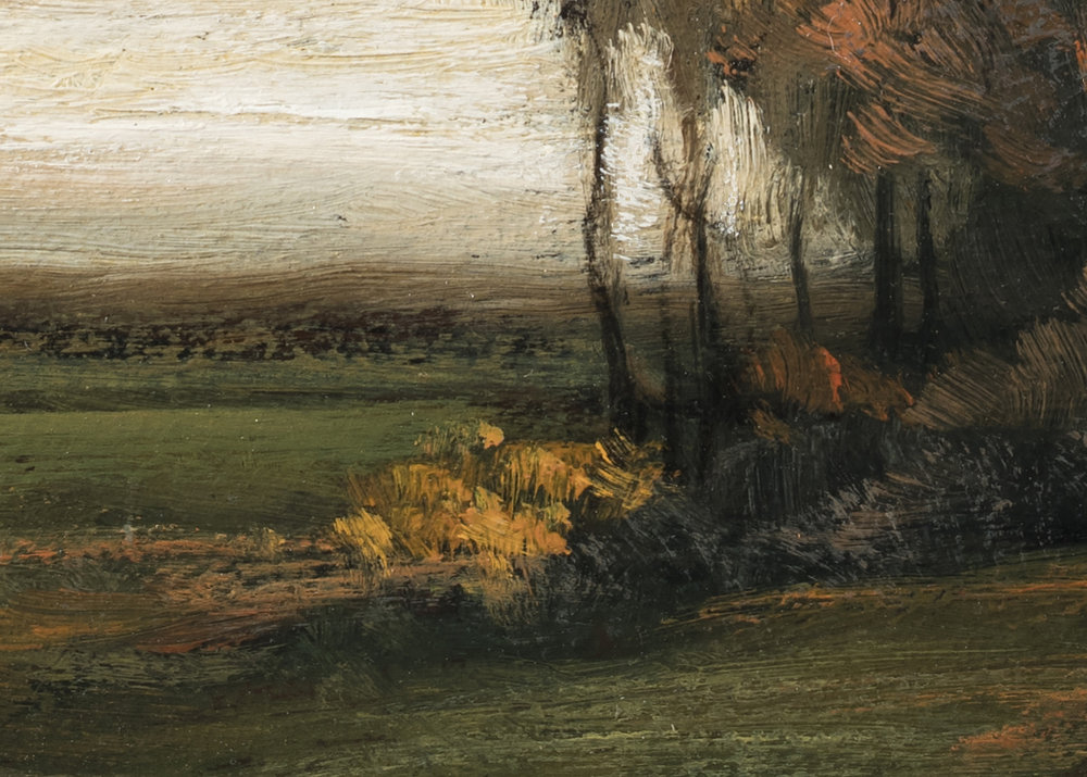 Study after John Francis Murphy Autumn by M Francis McCarthy (Detail 2)