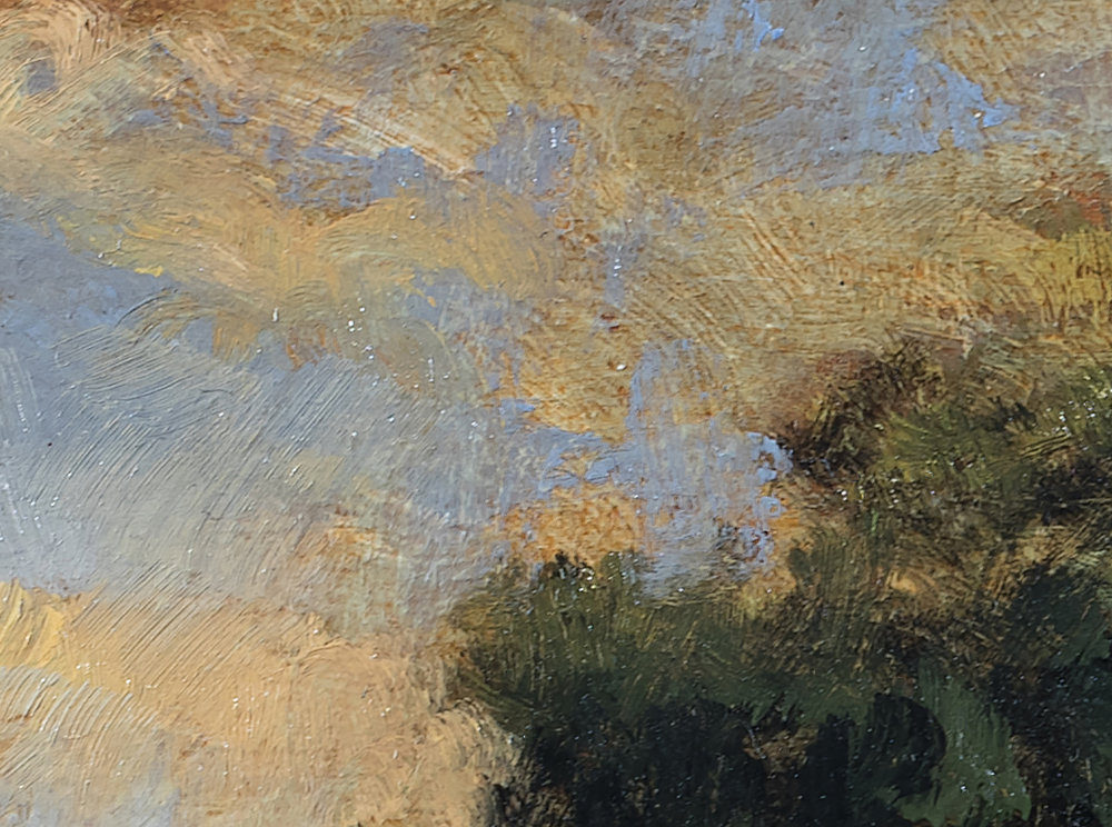 Fredrick's Field by M Francis McCarthy - 5x7 (Detail 2)