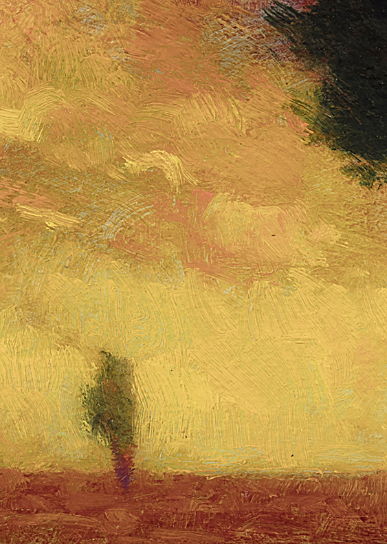 Daylight into Twilight by M Francis McCarthy - 5x7 (Detail)