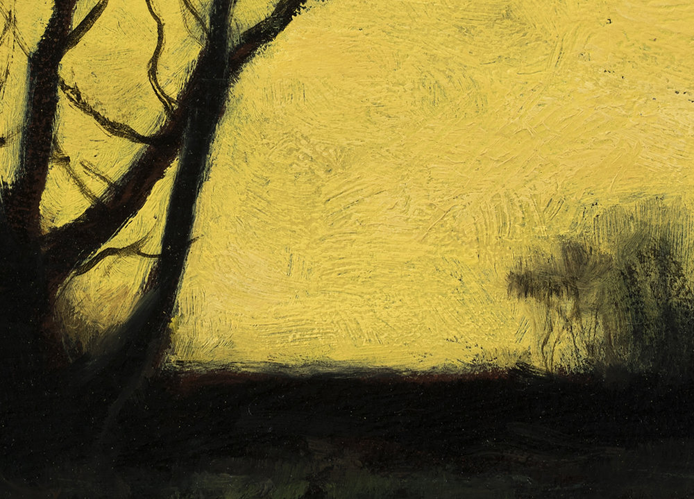 Study after Charles Warren Eaton 'Autumn' by M Francis McCarthy (Detail)