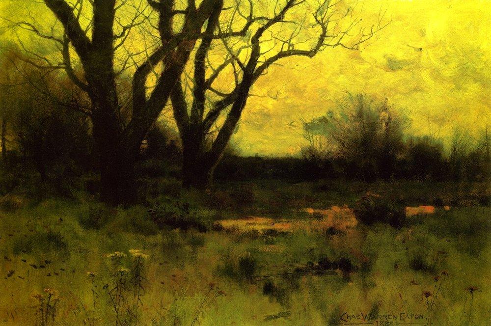 Charles Warren Eaton 'Autumn' by M Francis McCarthy (Original)