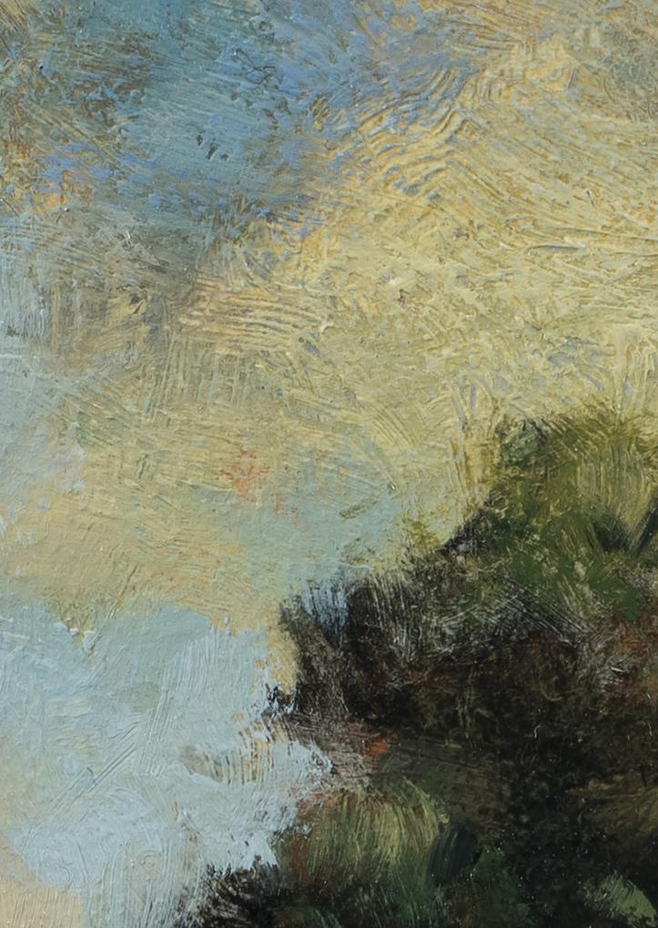 Lake Path by M Francis McCarthy - 5x7 (Detail 2)