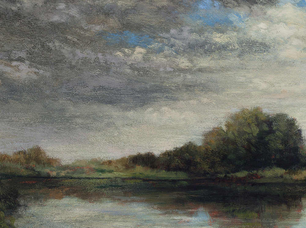 Afternoon Clouds by M Francis McCarthy (Detail)