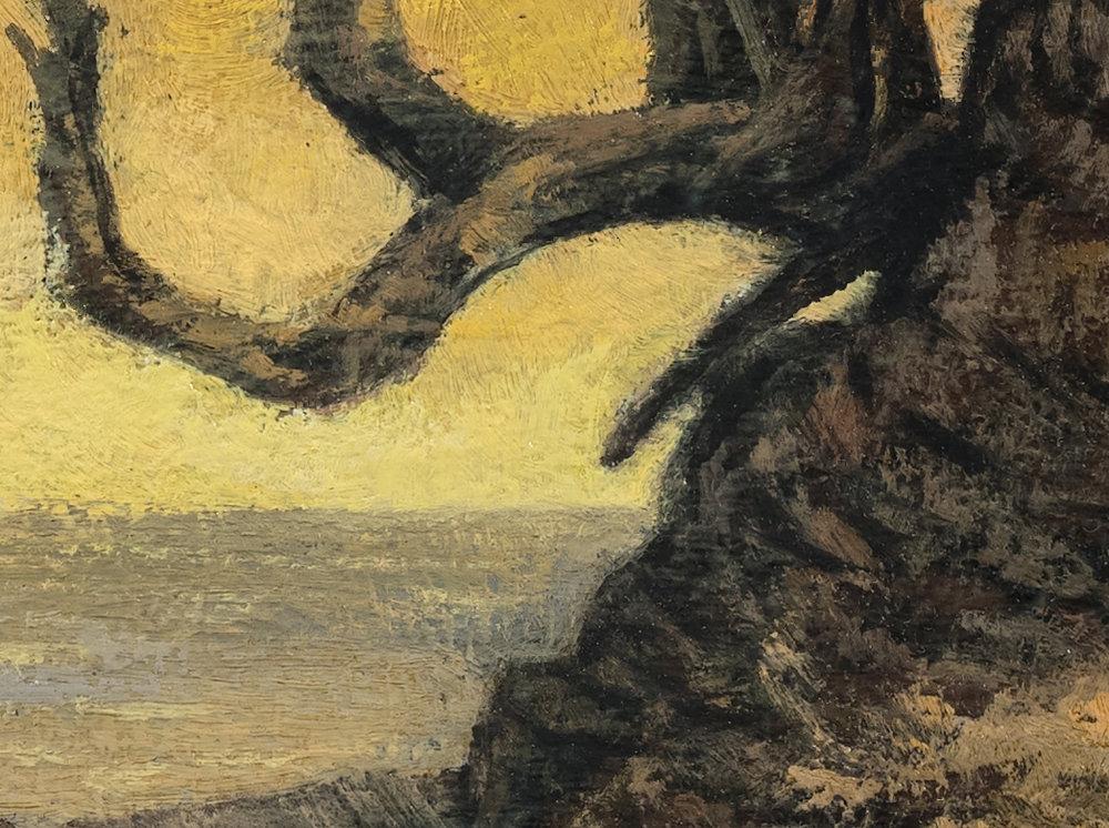 Sunrise Cove by M Francis McCarthy - 12x16 (Detail 2)