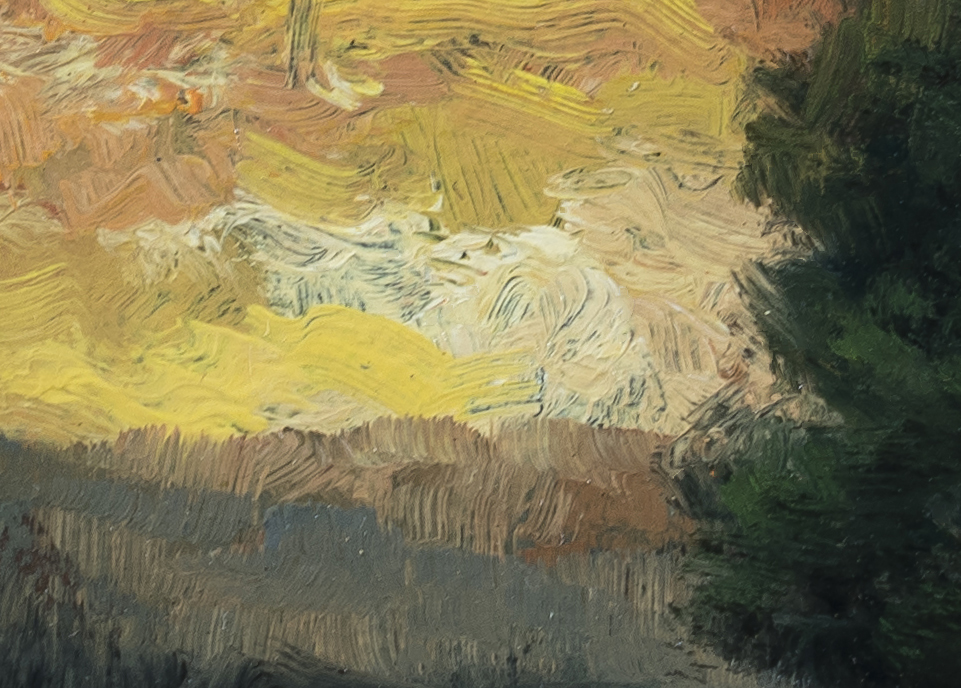 Morning Reverie by M Francis McCarthy - 5x7 (Detail 2)