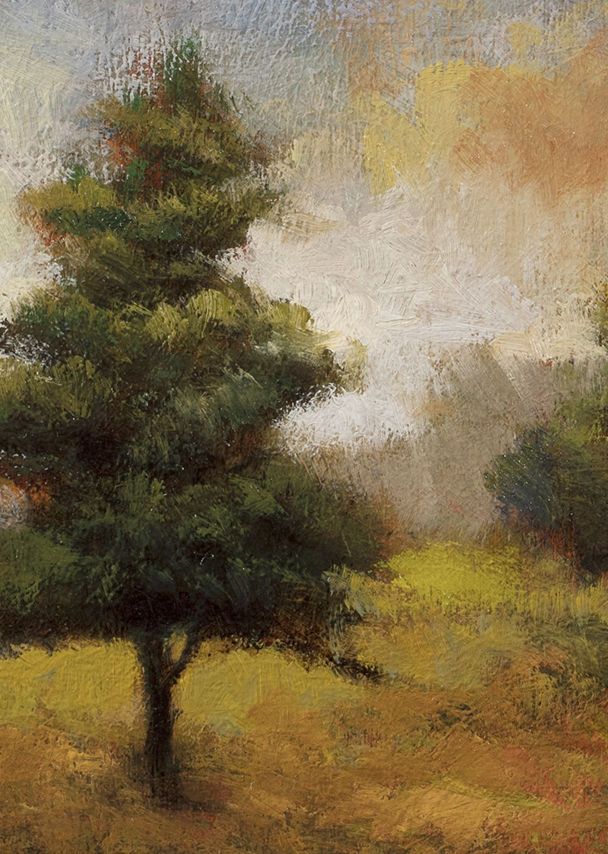 Long Shadows by M Francis McCarthy - 5x7 (Detail)