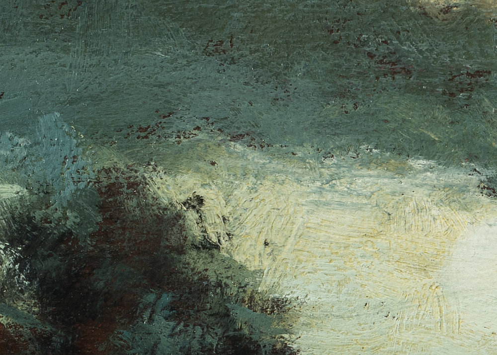 Study after Charles Warren Eaton - Landscape by M Francis McCarthy (Detail 2)