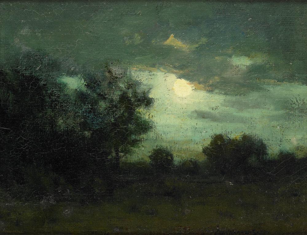 Original painting - Charles Warren Eaton - Landscape
