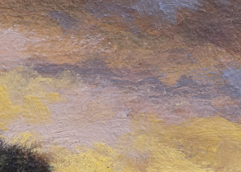 Over the Hill by M Francis McCarthy - 5x7 (Detail 2)