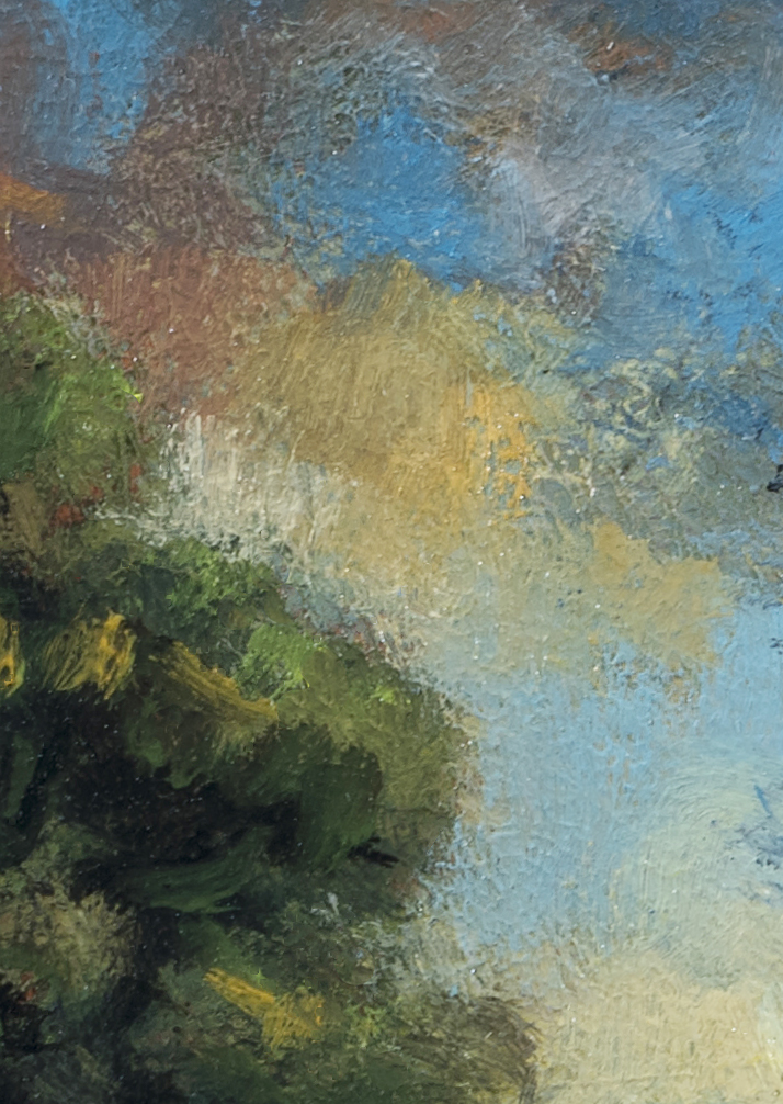 Riverside Meadow by M Francis McCarthy - 5x7 (Detail 2)
