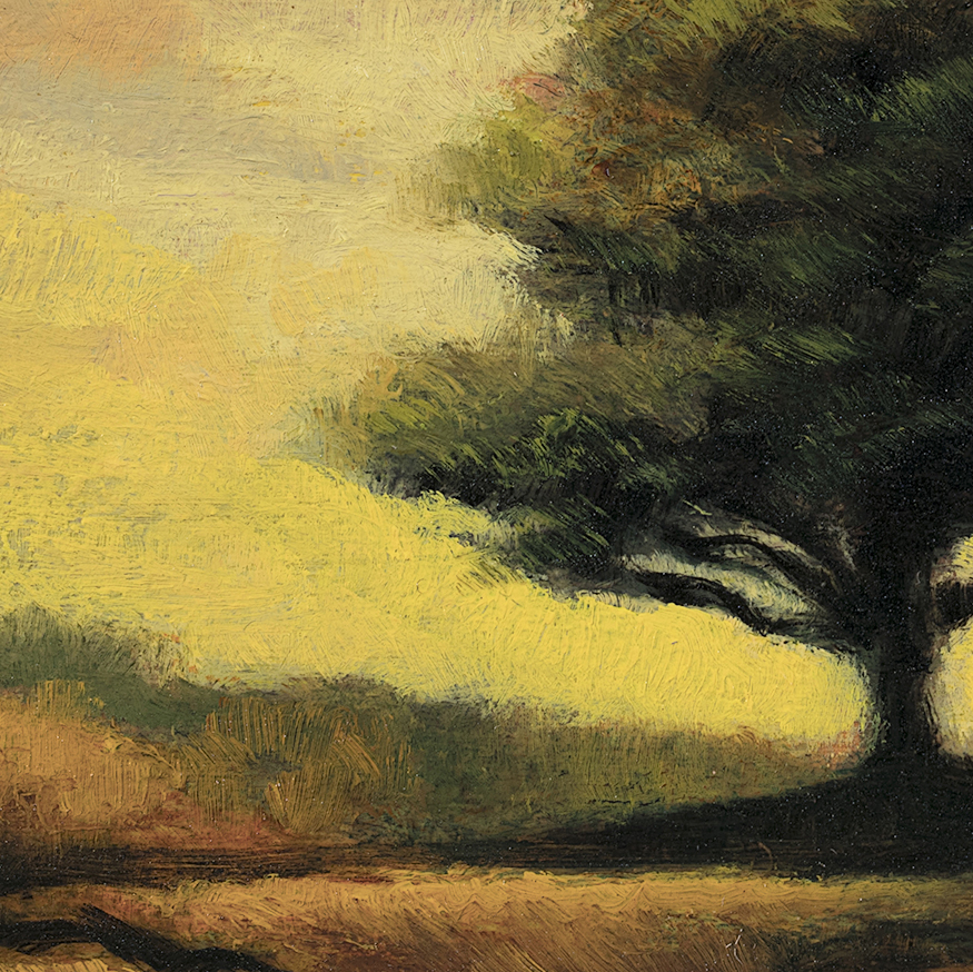 Morning Light by M Francis McCarthy - 5x7 (Detail)