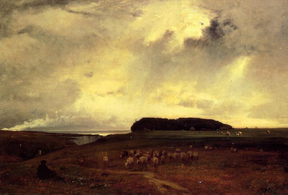 George Inness The Storm (Original)
