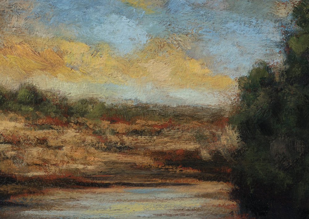 Morning before the Storm by M Francis McCarthy - 5x7 (Detail)