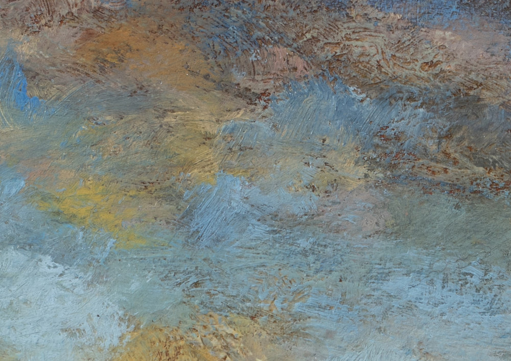 Morning before the Storm by M Francis McCarthy - 5x7 (Detail 2)