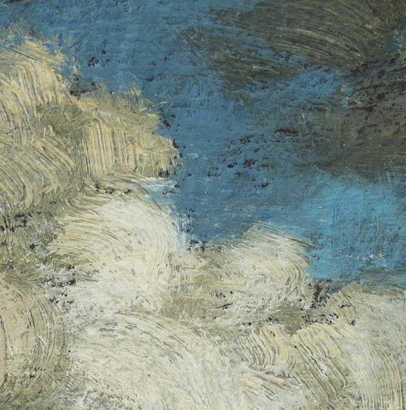 Study after Jacob van Ruisdael View of Haarlem by M Francis McCarthy - 5x5 (Detail)