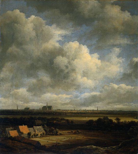 Jacob van Ruisdael View of Haarlem (Original)