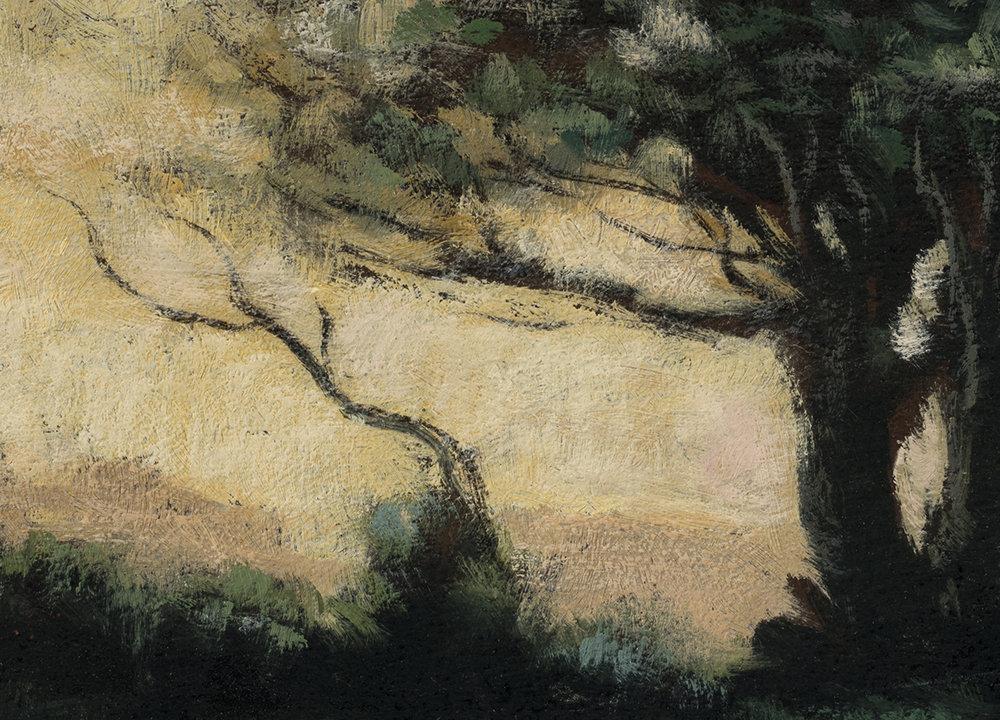 Study after: Camile Corot - Castel Gandolfo by M Francis McCarthy - 5x7 (Detail)