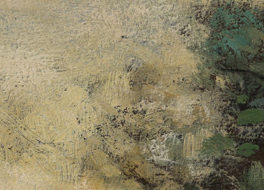 Study after: Camile Corot - Castel Gandolfo by M Francis McCarthy - 5x7 (Detail 2)